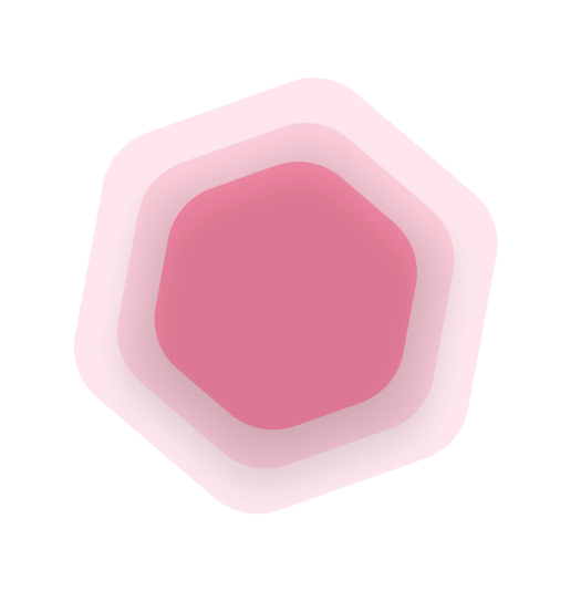 hexagone-red